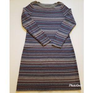 L.L Bean sweater dress size L